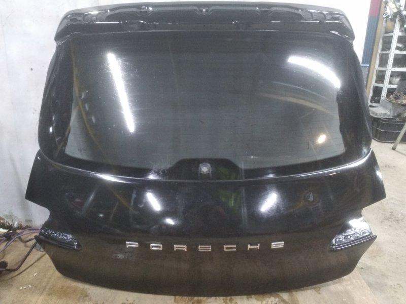 Крышка багажника Porsche Macan 95B 3.0 TDI 2013 задняя (б/у)