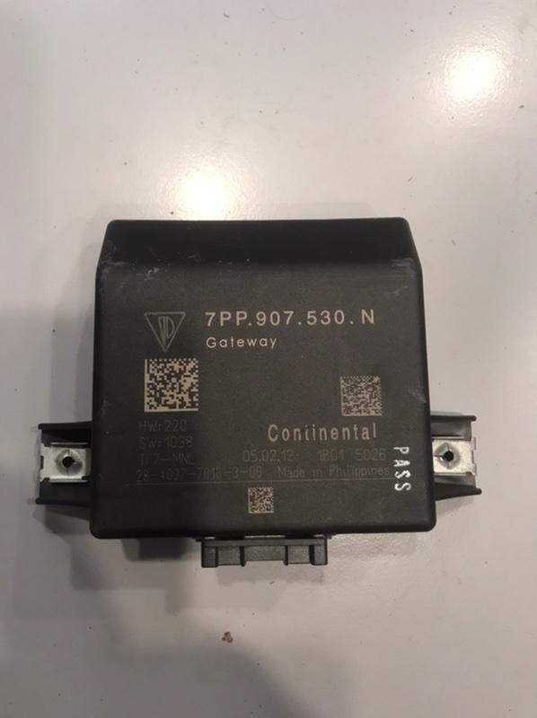Диагностический интерфейс Porsche Cayenne 958 3.0 TDI (б/у)