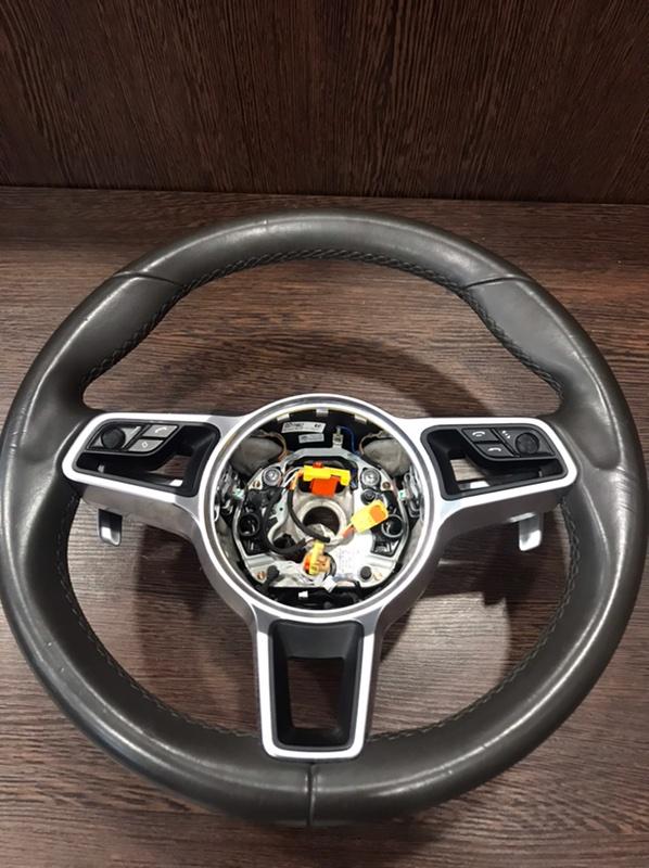 Руль Porsche Macan 95B 3.0 TDI (б/у)