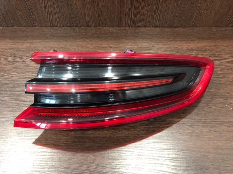Фонарь Porsche Macan 95B 3.0 TDI 2013 задний правый (б/у)