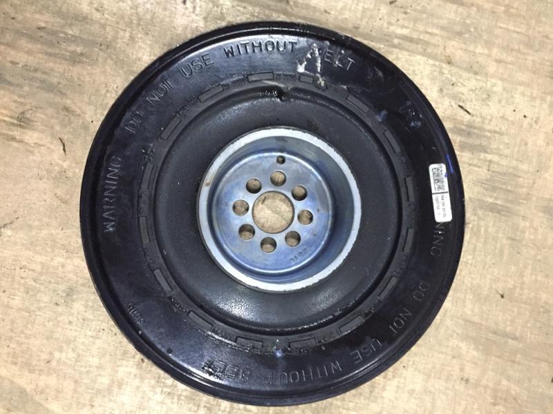 Демпфер крутильных колебаний Porsche Macan 95B 3.0 TDI 2014 передний (б/у)