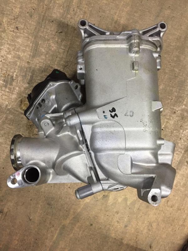 Радиатор рециркуляции ог Porsche Macan 95B 3.0 TDI 2014 (б/у)