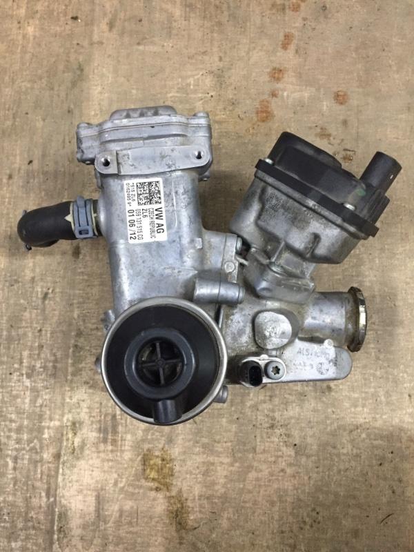 Радиатор рециркуляции ог Porsche Cayenne 958 3.0 TDI 2010 (б/у)