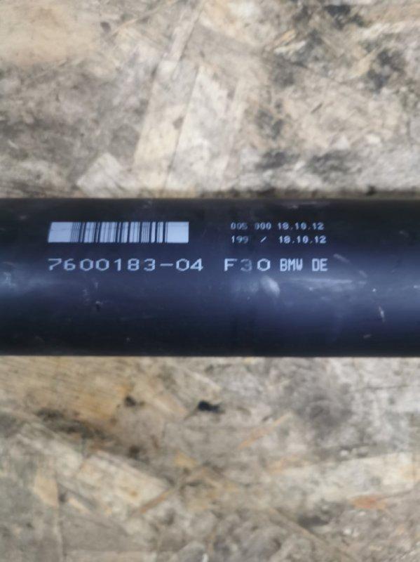 Кардан Bmw 3-Series F30 2011 задний (б/у)