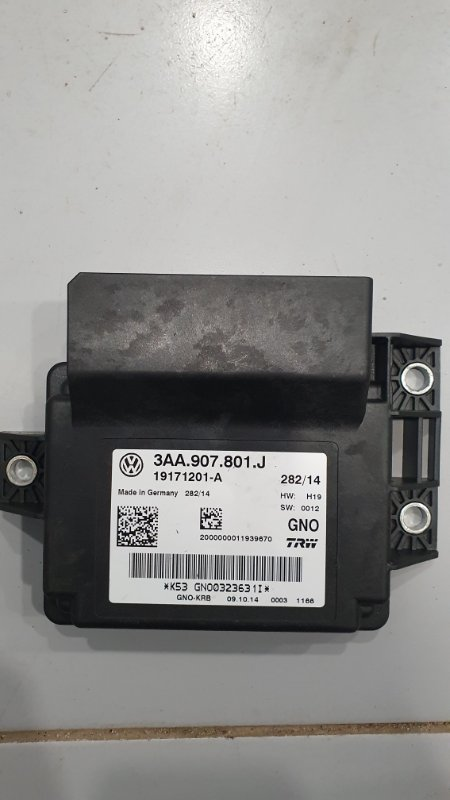 Блок управления стояночным тормозом Audi Rsq3 8U 2.5 T CTS 2011 (б/у)
