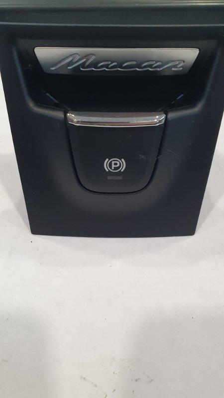 Кнопка ручника Porsche Macan 95B 3.0 TDI 2013 (б/у)