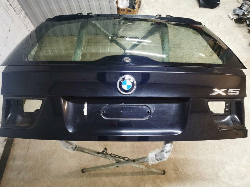 Крышка багажника Bmw X5 E70 3.0 N57D30A задняя верхняя (б/у)