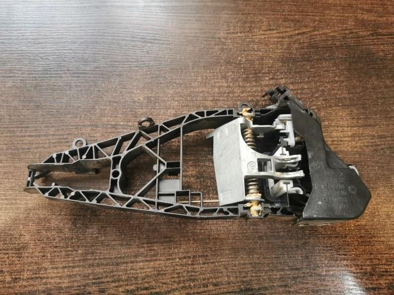 Кронштейн ручки двери Bmw X5 F15 3.0 N57D30A 2013 задний левый (б/у)