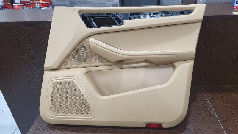 Обшивка двери Porsche Macan 95B 3.0 TDI 2014 передняя правая (б/у)