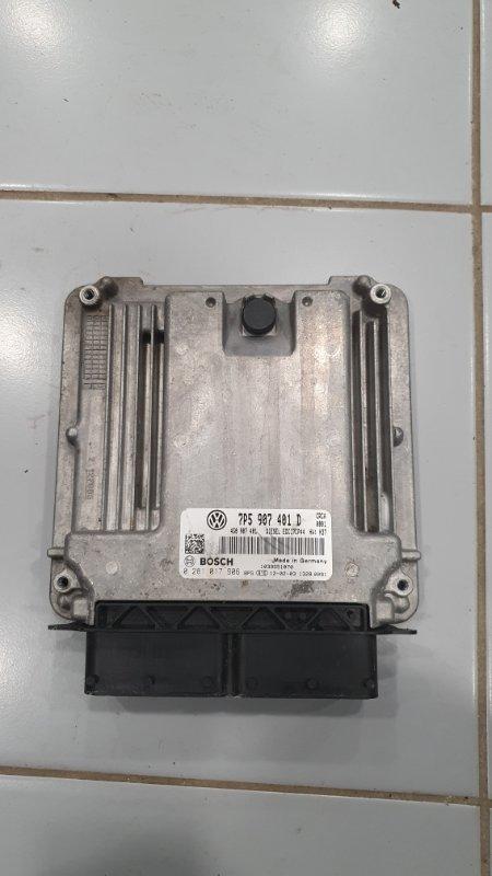 Блок управления двигателя Porsche Cayenne 958 3.0 TDI 2011 (б/у)
