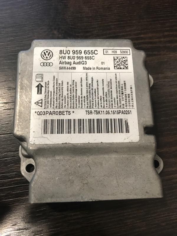 Блок srs Audi Q3 8U (б/у)