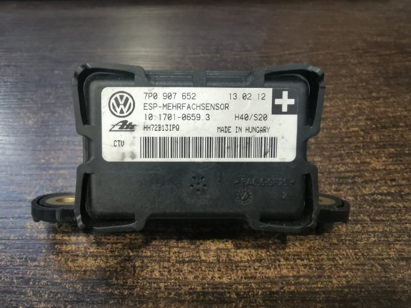Датчик ускорения Porsche Cayenne 958 3.0 TDI 2011 (б/у)
