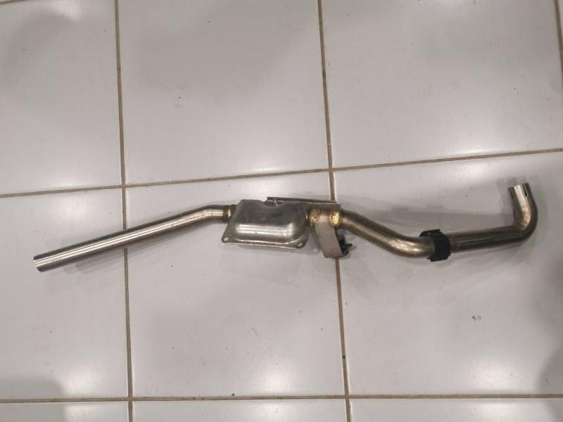 Глушитель Volkswagen Amarok 2H (б/у)