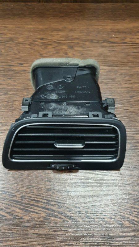 Дефлектор торпеды Volkswagen Golf 5G 2013 правый (б/у)