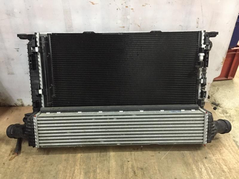 Кассета радиаторов Porsche Macan 95B 3.0 TDI 2014 передняя (б/у)