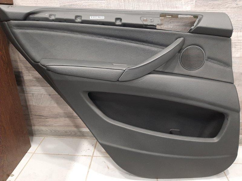 Обшивка двери Bmw X5 F15 3.0 N57D30B 2013 задняя левая (б/у)
