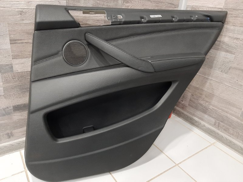 Обшивка двери Bmw X5 E70 3.0 N57D30A 2009 задняя правая (б/у)
