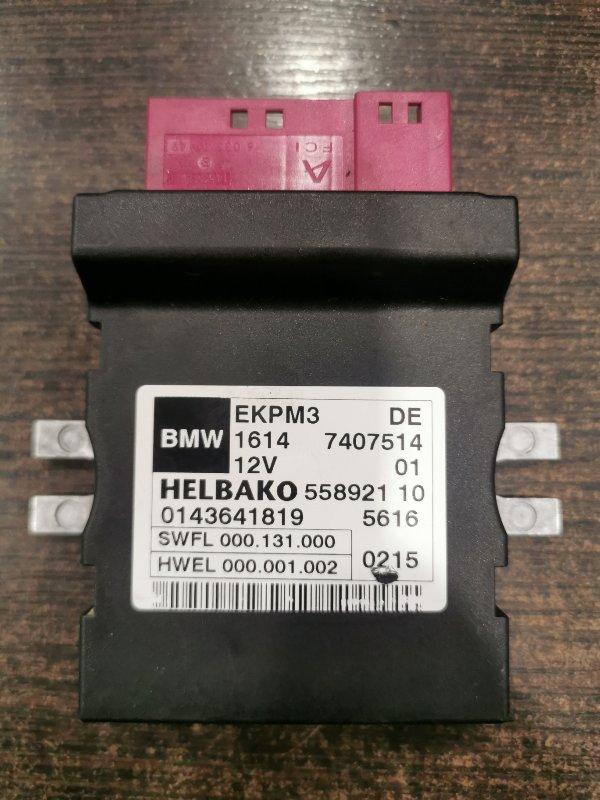 Блок управления топливным насосом Bmw 5-Series F11 3.0 N57D30A 2009 (б/у)