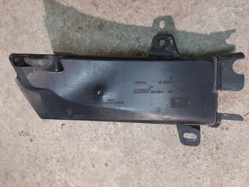 Воздуховод тормозов Bmw 5-Series F11 3.0 N57D30A 2009 передний левый нижний (б/у)