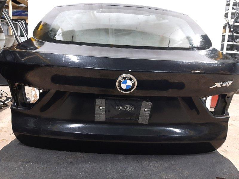 Крышка багажника Bmw X4 F26 2.0 B47D20A 2013 задняя (б/у)