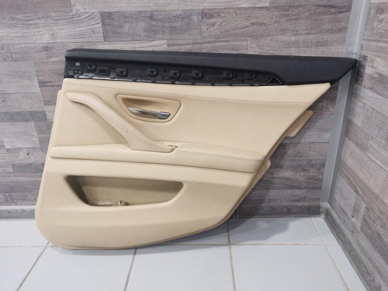 Обшивка двери Bmw 5-Series F11 3.0 N57D30A 2009 задняя правая (б/у)