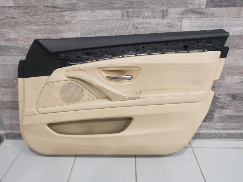 Обшивка двери Bmw 5-Series F11 3.0 N57D30A 2009 передняя правая (б/у)