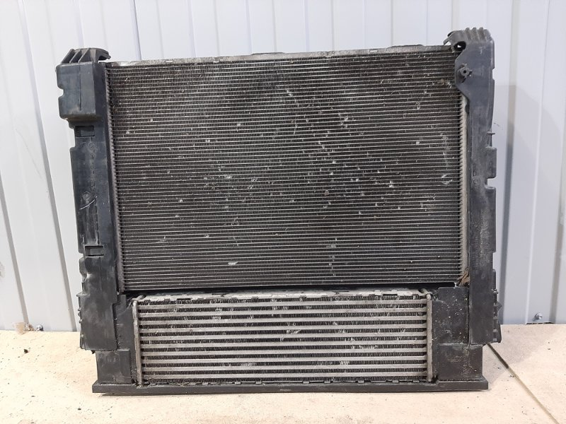 Кассета радиаторов Bmw X4 F26 2.0 B47D20A 2013 передняя (б/у)