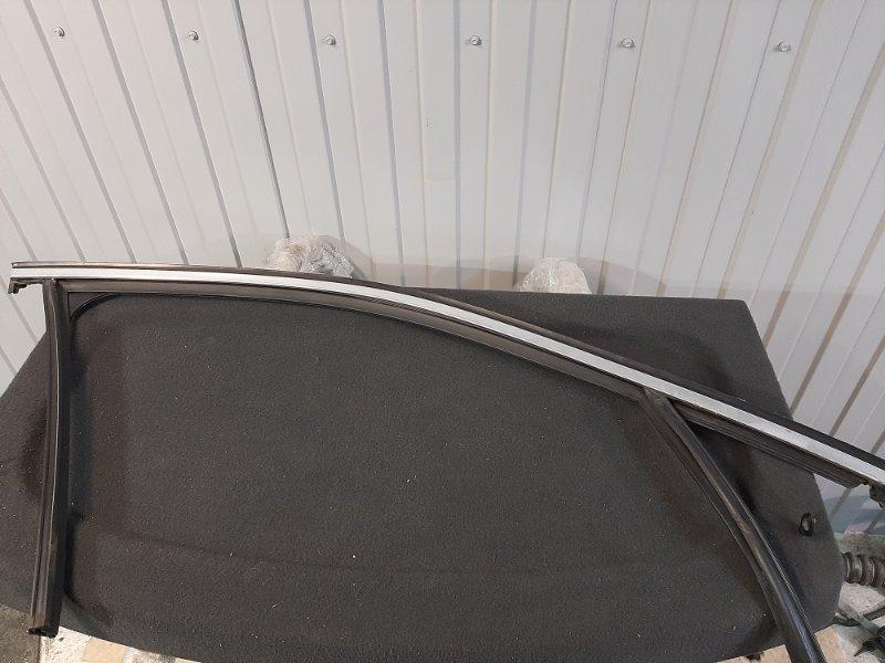 Молдинг двери Bmw X4 F26 2.0 B47D20A 2013 передний правый (б/у)