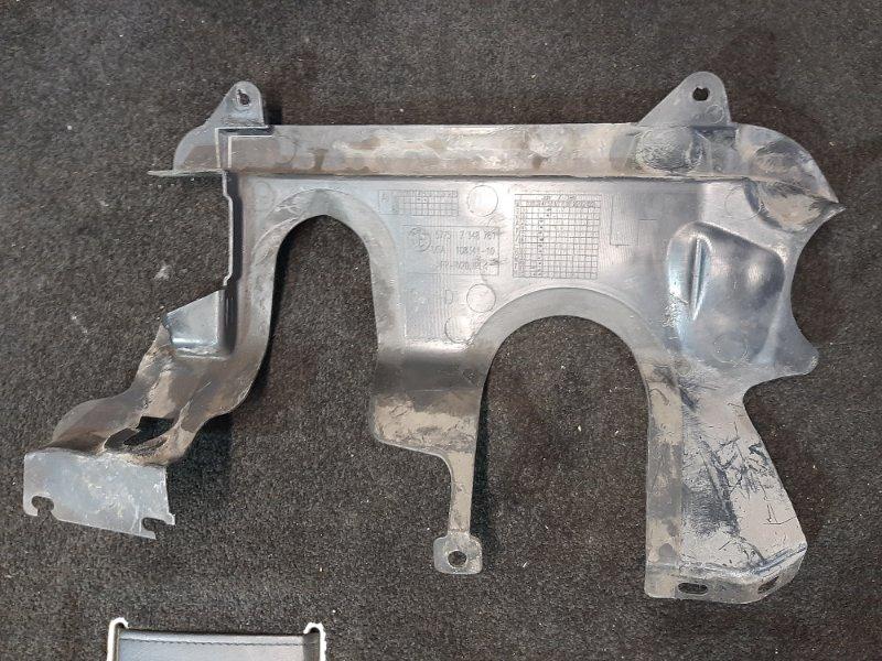 Кожух рулевого механизма Bmw X4 F26 2.0 B47D20A 2013 передний левый нижний (б/у)
