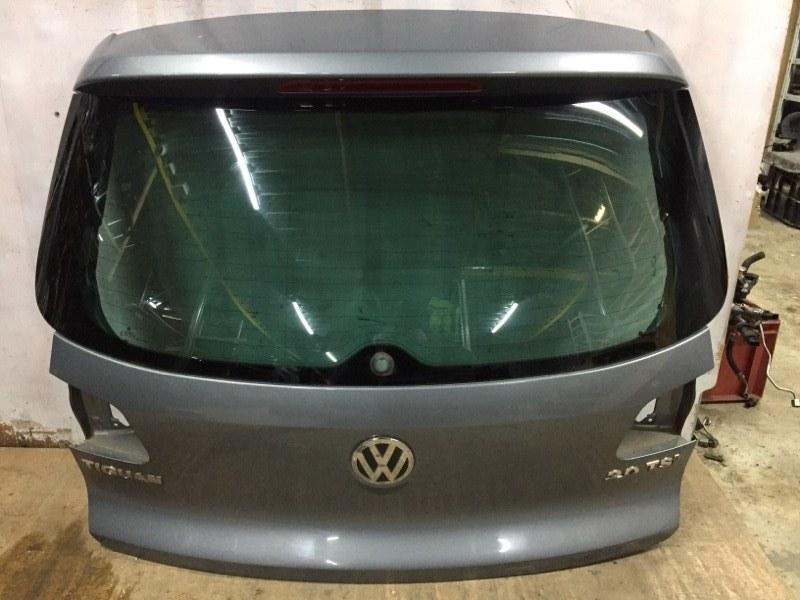 Крышка багажника Volkswagen Tiguan 5N 2.0 T CAWA 2007 задняя (б/у)
