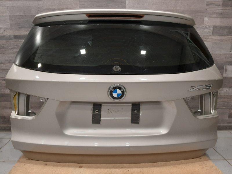 Крышка багажника Bmw X3 F25 2.0 B47D20A 2013 задняя (б/у)