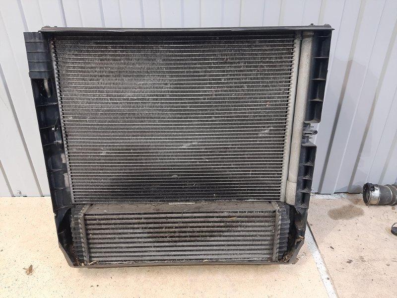 Кассета радиаторов Bmw X5 E70 3.0 N57D30A 2009 передняя (б/у)