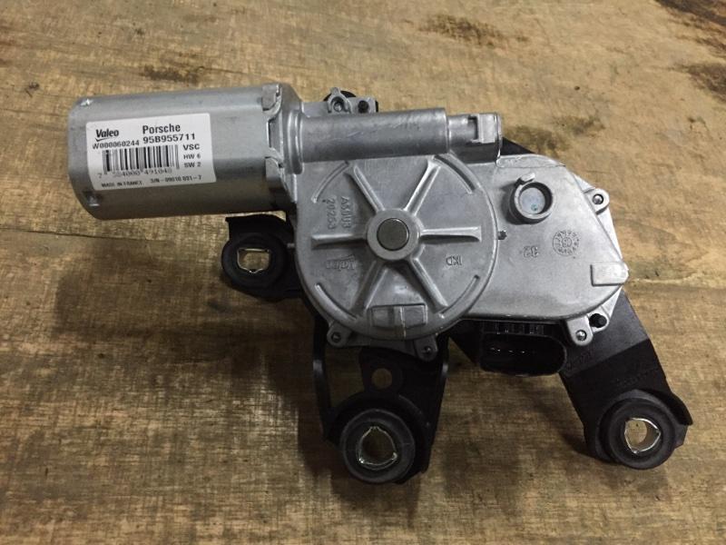 Моторчик заднего дворника Porsche Macan 95B 3.0 TDI 2014 задний (б/у)