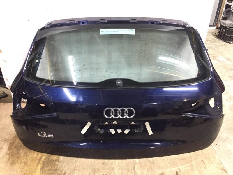 Крышка багажника Audi Q5 8R 3.0D CCW 2008 задняя (б/у)