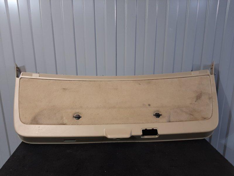 Облицовка багажной двери нижняя Bmw 5-Series F11 3.0 N57D30A 2009 задняя (б/у)