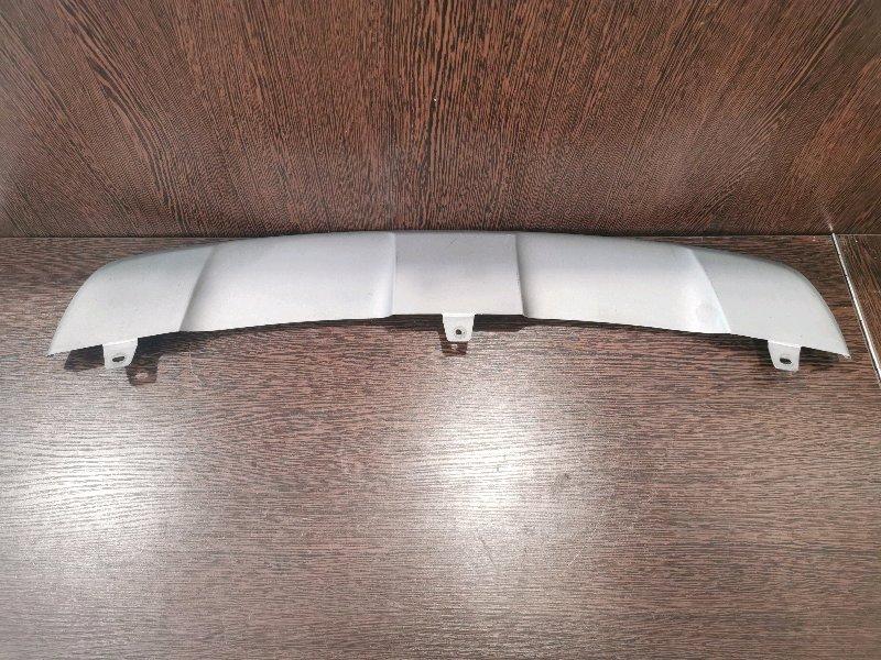 Накладка бампера Bmw X6 E71 3.0 N57D30A 2009 передняя нижняя (б/у)