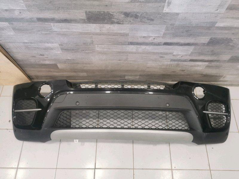 Бампер передний Bmw X5 E70 3.0 N57D30A 2009 передний (б/у)
