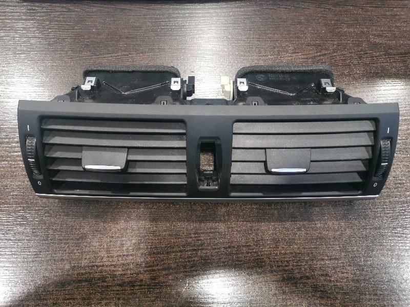 Вентиляционная решетка Bmw X6 E71 3.0 N57D30A 2009 передняя (б/у)