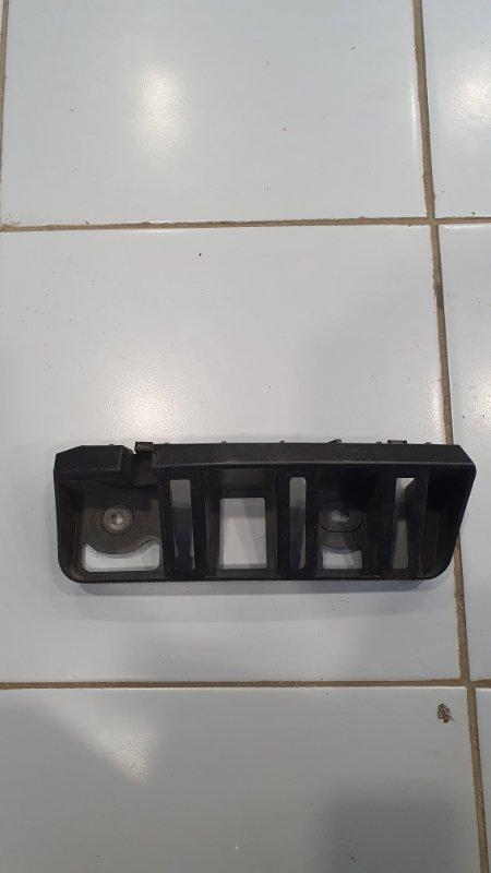 Кронштейн бампера Skoda Rapid 5JA 2013 задний левый (б/у)