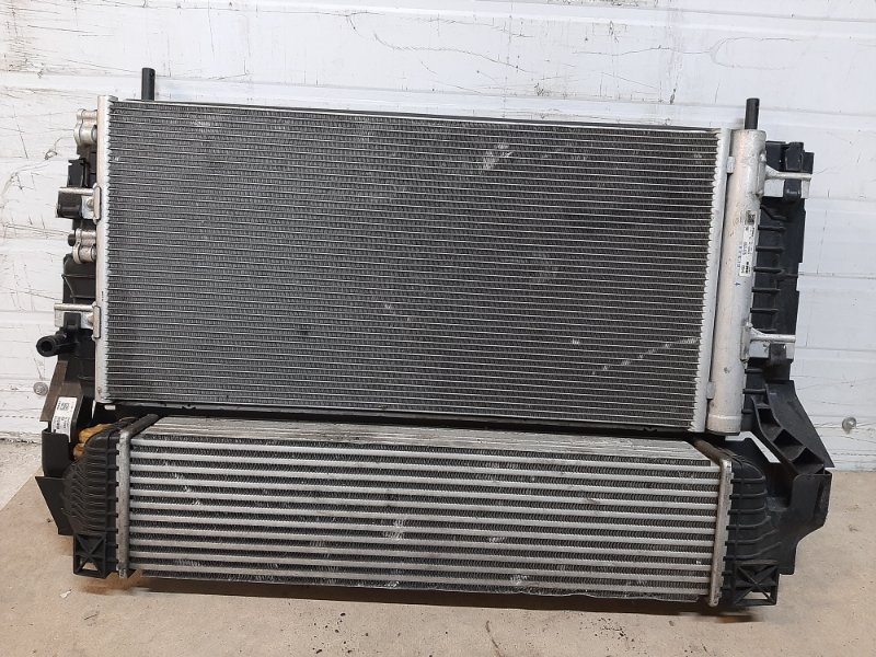 Кассета радиаторов Bmw X1 F48 2015 передняя (б/у)