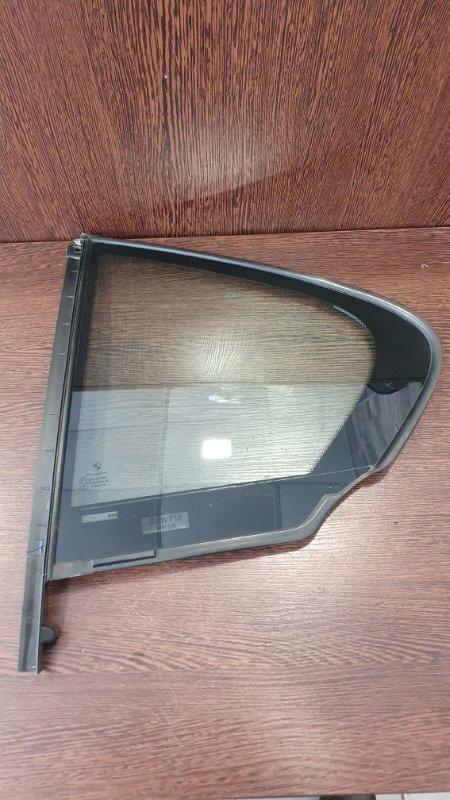 Форточка Bmw 5-Series F10 2009 задняя левая (б/у)