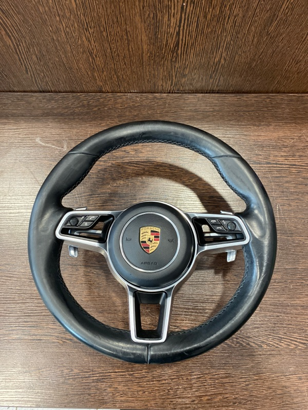 Руль Porsche Cayenne 958 3.0 TDI 2015 (б/у)
