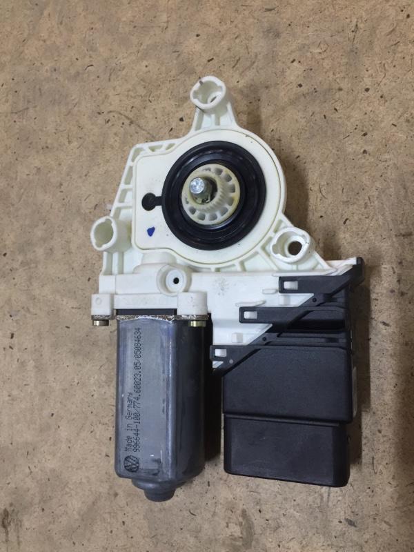 Мотор стеклоподъемника Volkswagen Touran 1T 2003 задний правый (б/у)