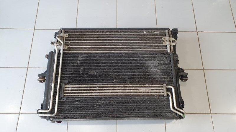Кассета радиаторов Volkswagen Touareg 7L 2003 (б/у)