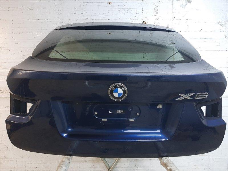 Крышка багажника Bmw X6 E71 3.0 N57D30A 2009 задняя (б/у)