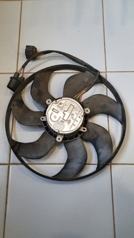 Вентилятор охлаждения радиатора Volkswagen Sharan 7N 2011 (б/у)