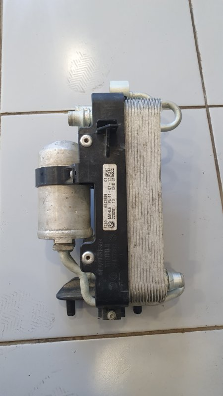 Конденсатор кондиционера с осушителем Bmw 5-Series G30 3.0 B48B20B 2016 (б/у)