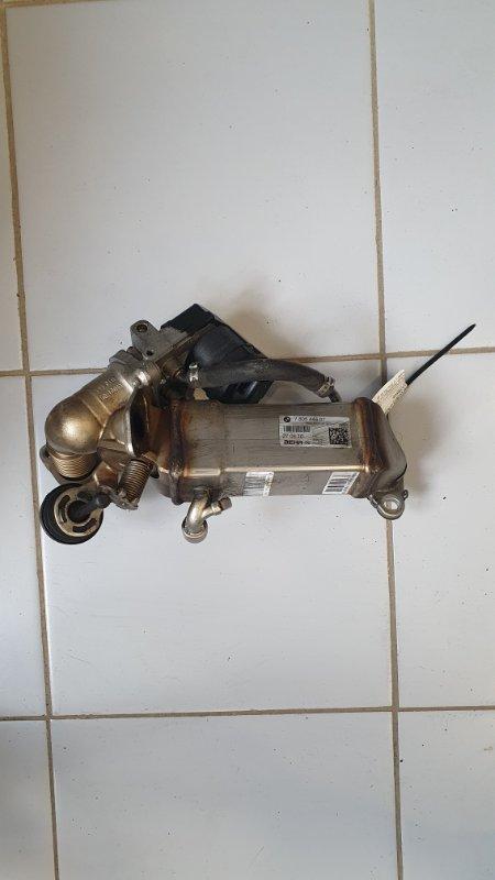 Охладитель отработанных газов Bmw X5 E70 3.0 N57D30A 2009 передний (б/у)
