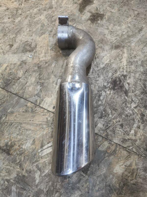 Накладка трубы глушителя Audi Q7 4L 2007 правая (б/у)