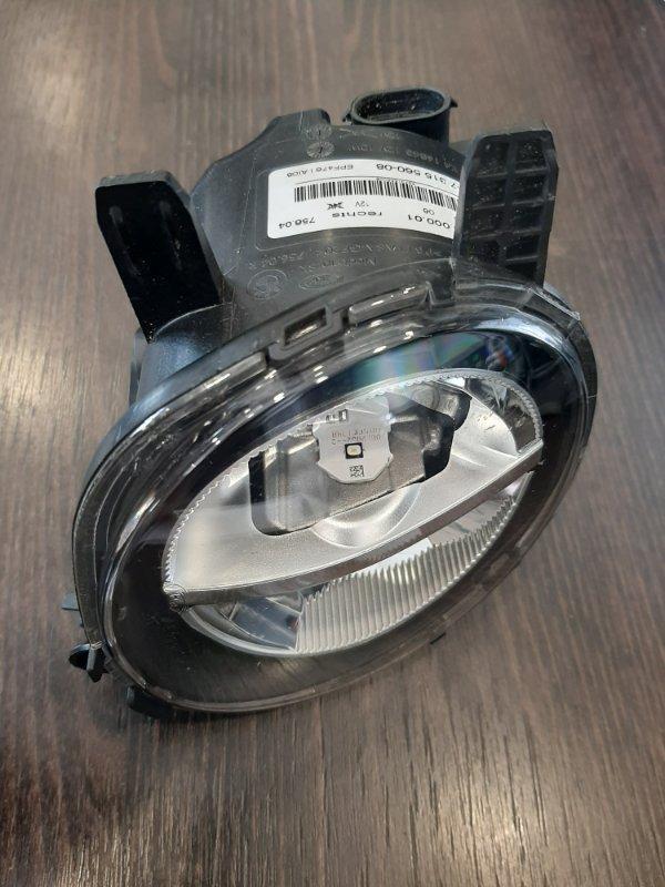 Фара противотуманная Bmw 3-Series F34 2013 передняя правая (б/у)